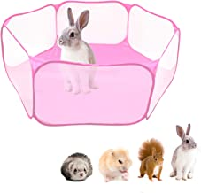 Queen.Y Opvouwbare huisdier puppy kooi, indoor outdoor kleine dierlijke kooi voor cavia, konijnen, hamster, chinchilla's e...