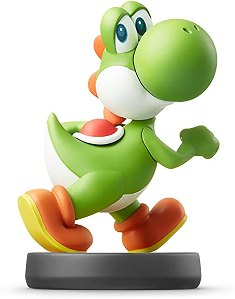 Yoshi Amiibo Importación Japonesa Super Smash Bros Series Video Games