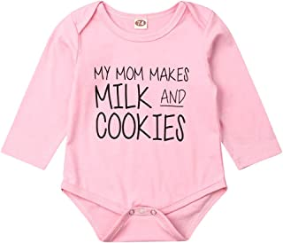 Taddy Newborn Infant Baby Girl Bodysuit Pink Baby Girl Clothes Pink Shower Gift Romper Cotton Outfit
