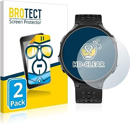 BROTECT Pellicola Protettiva Compatibile con Garmin Forerunner 235 [2 Pezzi] - Protezione Schermo, Ultra Trasparente