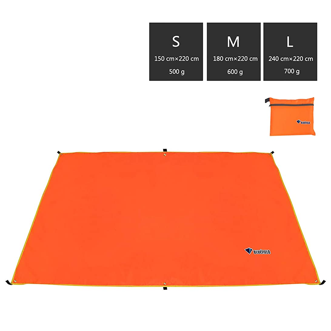 取得する彼強いますテントシート ビーチブランケット ビーチ シート 折り畳み グランドマット 天幕 ピクニック 軽量 防水 4~6人に適用 収納バッグ付き