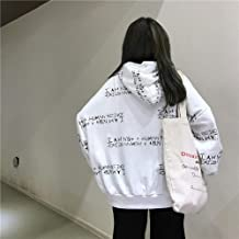 Frauen SweatshirtHoodie koreanischen Ulzzang Harajuku Patchw
