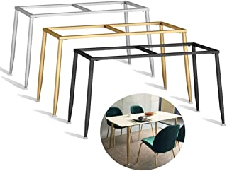 NWHJ Armature de Table à Manger rectangulaire, Pieds Bureau de Table réunion d'ordinateur Modern,Piètement de Fer forgé en...