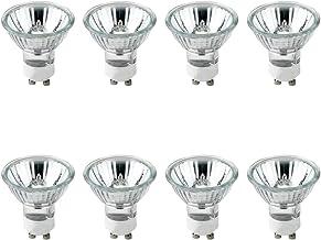 GU10 Halogeen, Halogeen Lampen Dimbaar, Lampen GU10 Warmwit 2700K, 50W, 220~240V, 8 Stuks