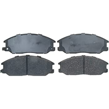 ACDelco 17D1645C Professional Ceramic Front Disc Brake Pad Set