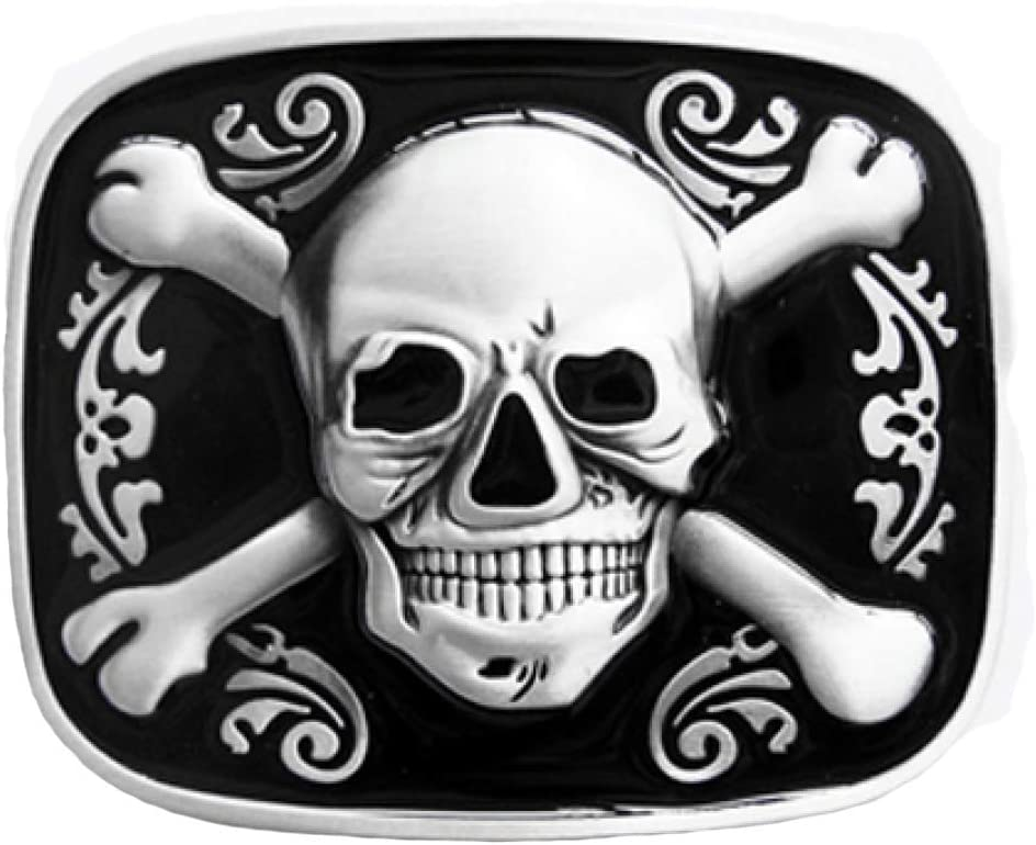 Hebilla de la bandera pirata - calavera - hebilla para cinturón