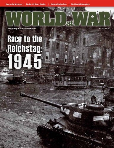 DG: World at War Magazine, Issue #26, with Race to the Reichstag 1945 Board Game
