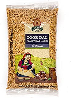 Laxmi Toor Dal, Traditional Indian Split Yellow Peas - 2lb Bag