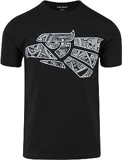 ShirtBANC Original Hecho en Mexico Aztec Calendar Eagle Shirt Mexican Eagle Tee