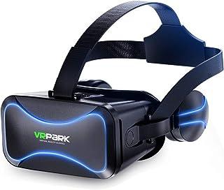 VR Lentes - Realidad Virtual Gafas 3D están equipados con Auriculares de Las Gafas de Realidad Virtual VR BLU-Ray 4,5 a 6,...