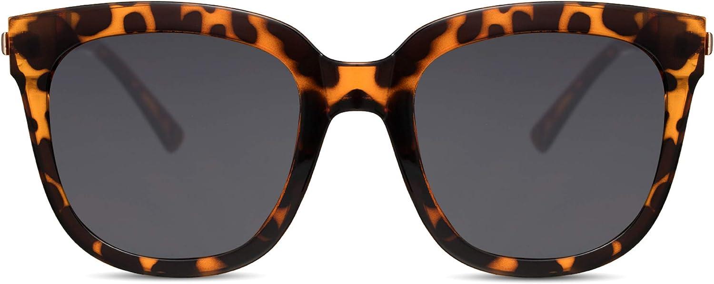 Cheapass Gafas de Sol Mujer Gafas Oversize Protección UV400