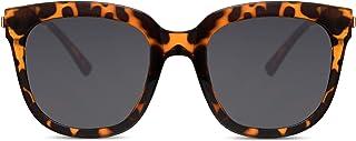 Cheapass Lunettes de soleil Femme Oversize Lunettes de soleil Protection UV400