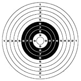 100 Pcs x 5.5' Air Soft/Air Gun Paper Target for Pellet...