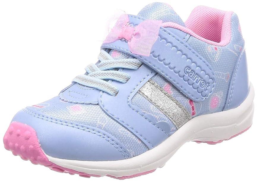 手がかり静かに等[キャロット] 運動靴 通学履き 15cm~19cm 0.5cm対応 軽量 キッズ CR C2235