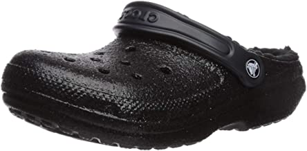 Crocs Women's Classic Glitter Lined Clog