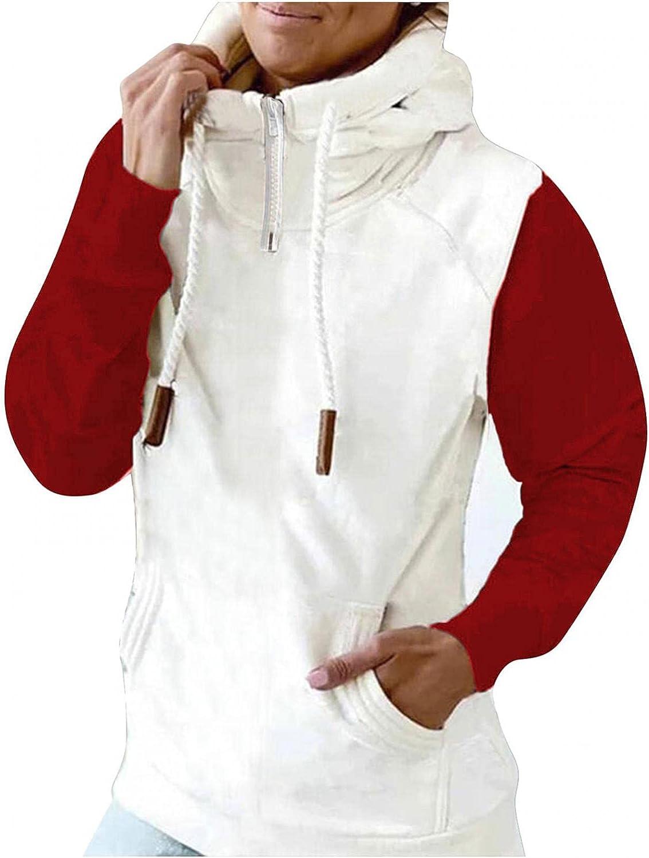 Oversized Zip Up Hoodie for Women Jumper Cowl Neck Pullover Drawstring Tops Hoodies 2021 Pullover Sweatshirt Blouses
