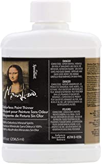 Speedball Art Products 190008 8-Ounce Mona Lisa Odorless Paint Thinner
