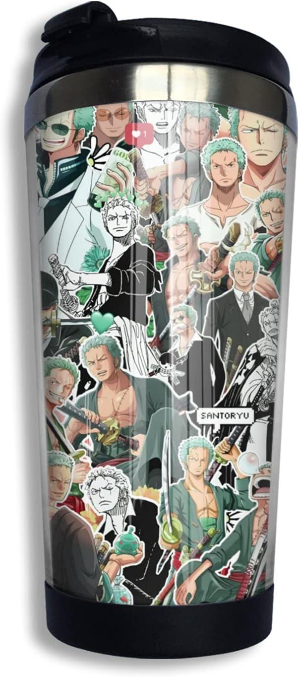 One Piece Ranking TOP11 Roronoa Zoro Anime Coffee Fas Japan Maker New Cup 3d Thermos Print Mug