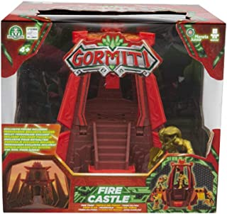 Giochi Preziosi Gormiti, Series 2, Action Playset Fire Castle, with 5 cm Character Included