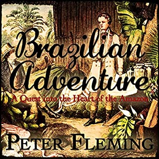 Brazilian Adventure audiobook cover art