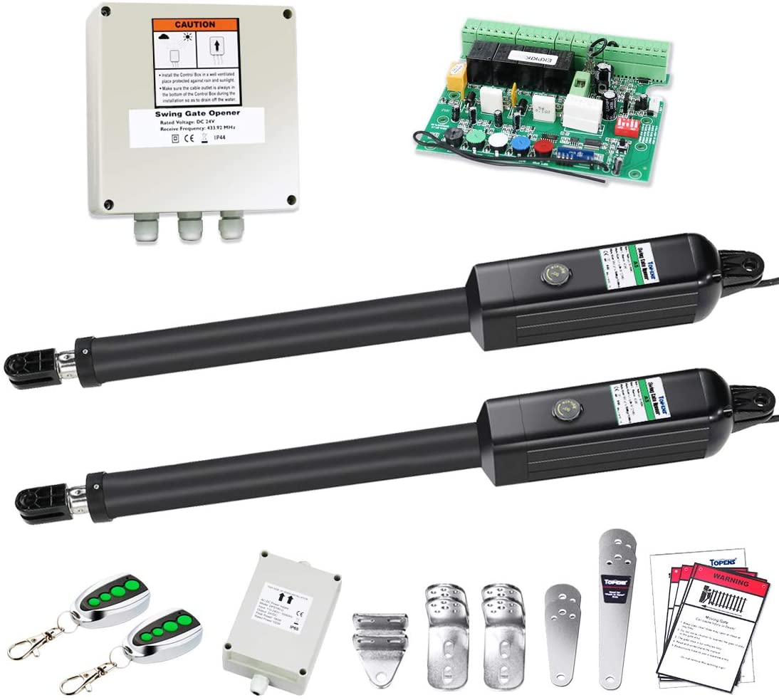TOPENS PW502 Automatic Gate Opener trust Kit Duty Cheap mail order shopping Medium Dual Ope