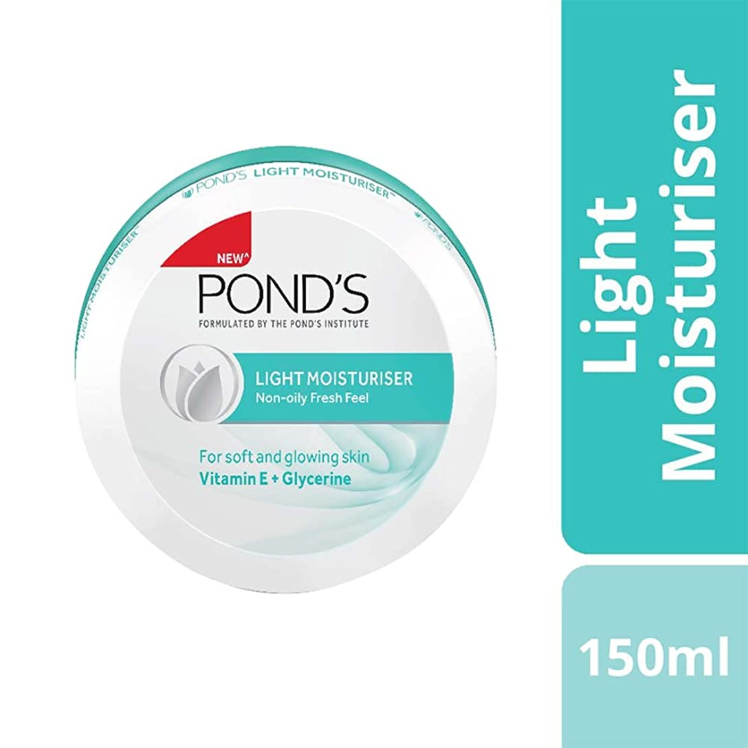 中毒なす空中Ponds Light Moisturiser, 150ml - India