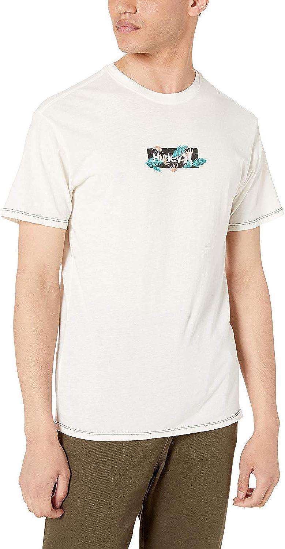 Hurley Men's Lightweight Vintage Graphic Tshirt