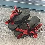 Moda Mujer Zapatos de Verano Zapatos de Plataforma Lindo Oso decoración Chanclas Sandalias Zapatillas Estilo Todo fósforo Interior Exterior Zapatos
