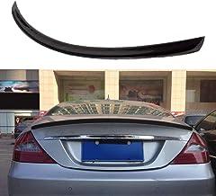 JTAccord Spoiler Trasero de Fibra de Carbono Tapa del Maletero Alas del alerón Diseño del automóvil para Mercedes-Benz CLS Clase W219 CLS63 AMG Sedan 4 Puertas 2004-2010