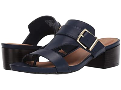 Kenneth Cole Reaction Late Buckle (Navy) Women