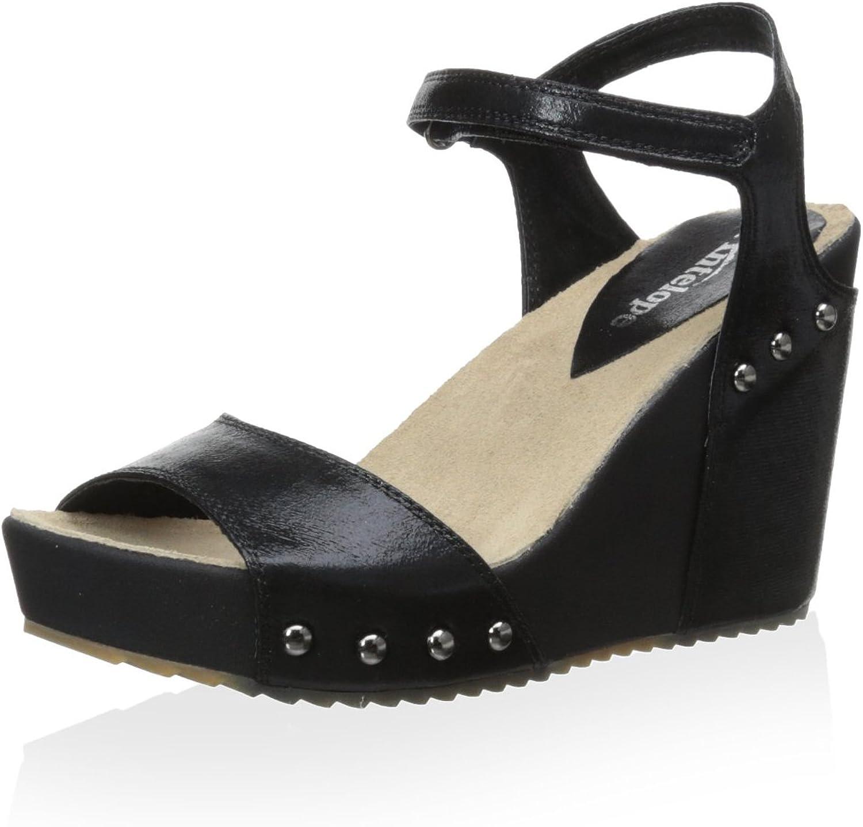 Antelope Women's 722 Sandal, Black, 37 M EU 6-6.5 M US