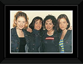 Stick It On Your Wall BWitched - Denim Jackets Framed Mini Poster - 18x23cm