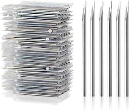 Body Piercing Needles, ATOMUS 14G 16G Stainless Steel Sterile Disposable Ear Nose Navel Nipple Lip Piercing Needles (10pcs...