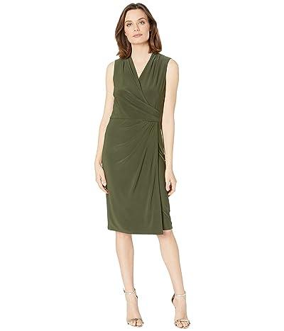 LAUREN Ralph Lauren Faria Sleeveless Dress (Oliva) Women