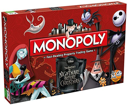 Monopoly The Nightmare Before Christmas - Inglés