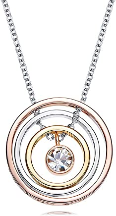bc01ff9233 I Love You Mom Necklace Engraved Pendant Gold Plated Necklace Nickel Free,  Box Packaged -