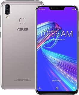 ASUS ZenFone Max (M2) (ZB633KL) 3GB / 32GB 6.3-inches LTE Dual SIM Factory Unlocked - International Stock No Warranty (Meteor Silver)