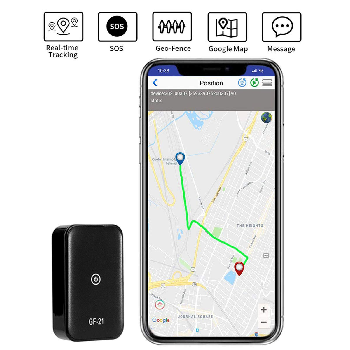 Portable Anti Theft Location Tracking Motorcycles