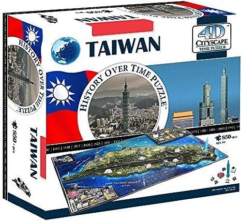 4D Cityscape 4D Taiwan Puzzle by 4D Cityscape