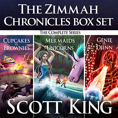 The Zimmah Chronicles Box Set audiobook cover art