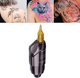 Tattoo Machine Professionele Korte Tattoo Machine Interface Liner Shader Pen Tattoo Machine (Grijs)