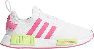 Women's Originals NMD R1 Solar Pink/Solar Yellow/Solar Orange Mesh Casual Shoes 6.5 M US