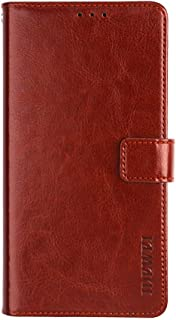 Elephone C1 Max Case, PU Leather Stand Wallet Flip Case Cover for Elephone C1 Max,Business Style Phone Protection Shell,The case with[Cash and Card Slots]