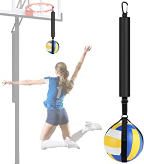 TOBWOLF Volleyball Spike Trainer, Volleyball Spike Training System for Basketball Hoop,...