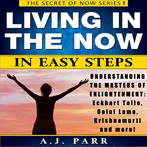 Living in the Now in Easy Steps audiobook cover art