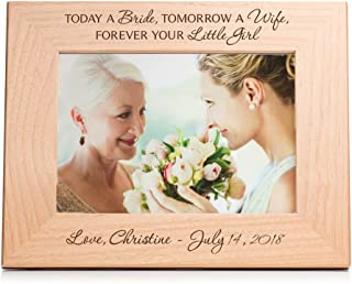 Lifetime Creations Engraved Personalized Mother of The Bride Frame (5