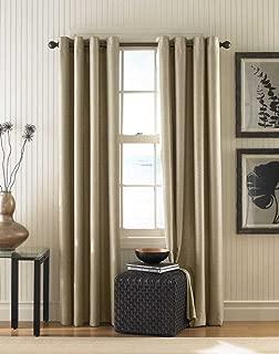 Curtainworks Monterey Grommet Curtain Panel, 52 by 132