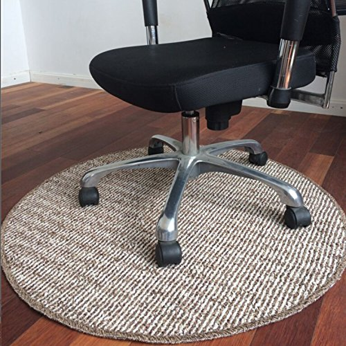 Bon tapis Guo Shop- Ronde Tapis Chambre Simple Chevet Salon Table Basse Maison rayé Ordinateur Chaise Tapis (Taille : 160 * 160CM)