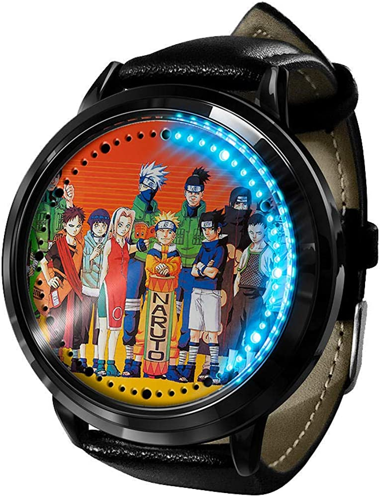 Anime Watch Naruto Kakashi LED Manufacturer direct delivery Digital F Touch Screen Waterproof Popular shop is the lowest price challenge