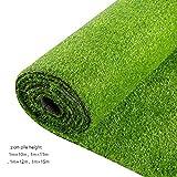 高品質人工芝マット、草の高さ2cmサイズ1m×10m、1m×11m、1m×13m 複数サイズ選択 (Size : 1m×11m)